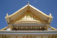 Wat sothon taram worawihan. Public temple stock photos