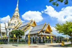 Wat Sothon Taram Worawihan. Temple in chachoengsao Thailand Stock Photos