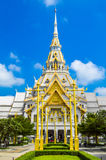 Wat sothon taram worawihan. Temple in chachoengsao thailand royalty free stock photo