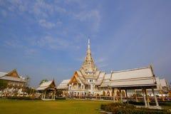 Wat Sothon tempel i Thailand arkivfoton