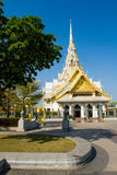 Wat Sothon Temple. In Chachoesao Thailand royalty free stock photo