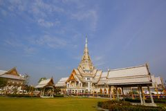 Wat Sothon, Temple in Thailand. Buddhist Temple in Thailand stock photos