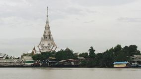Wat Sothon Temple of Thailand. Thailand temple wat sothon chachoengsao river royalty free stock photography