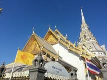 Wat sothon Wara RAM HA Chachoengsao province Stock Images