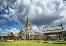 Wat Sothon Wararam. Is a temple in Chachoengsao Province, Thailand Stock Photo