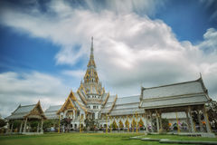Wat Sothon Wararam. Is a temple in Chachoengsao Province, Thailand Royalty Free Stock Photos