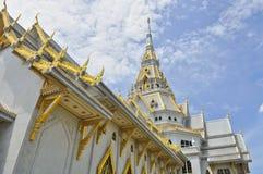 Wat Sothon Wararam Worawihan. Chachoengsao, Thailand Stock Photo