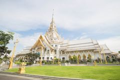 Wat Sothon Wararam Worawihan. In Chachoengsao province royalty free stock photography