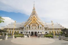 Wat Sothon Wararam Worawihan. In Chachoengsao province Stock Photos