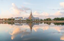 Wat Sothon Wararam Worawihan, Chachoengsao, Thailand.  Stock Image