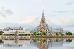 Wat Sothon Wararam Worawihan, Chachoengsao, Thailand.  Stock Photography