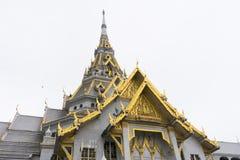 Wat Sothon Wararam Worawihan, Chachoengsao, Thailand. Beautiful architecture of Wat Sothon Wararam Worawihan, Chachoengsao, Thailand Royalty Free Stock Images