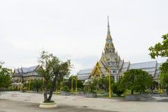 Wat Sothon Wararam Worawihan, Chachoengsao, Thailand. Beautiful architecture of Wat Sothon Wararam Worawihan, Chachoengsao, Thailand Stock Photography