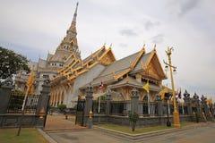 Wat Sothon Wararam Worawihan, landmark of Chachoengsao. Wat Sothon Wararam Worawihan, the landmark of Chachoengsao province, Thailand Royalty Free Stock Images