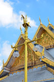 Wat Sothon Wararam Worawihan. Royal Monastery at Chachoengsao province in Thailand royalty free stock photography