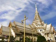 Wat SothonWararam 免版税库存图片