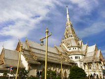 Wat SothonWararam royaltyfria bilder