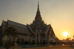 Wat Sothonwararam Royalty Free Stock Images