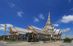 Wat SothonWararam is a temple in Thailand Royalty Free Stock Image