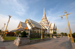Wat Sothonwararam,Thailand. Wat Sothonwararam in The Eastern of Thailand Royalty Free Stock Images