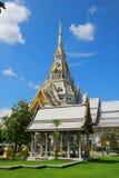 Wat Sothonwararam Worawihan. The back of Wat Sothonwararam Worawihan Stock Photo