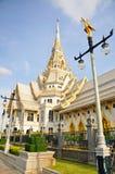 Wat sothorn cha cheng sao Thailand Royalty Free Stock Photos