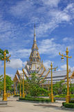 Wat sothorn chacherngsao thailand  important templ Royalty Free Stock Image