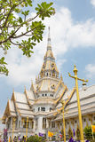 Wat Sothorn temple in chachoengsao province Stock Photography