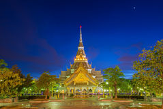 Wat Sothorn temple in night Stock Photography