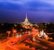 Wat Sothorn Wararam Woraviharn, Tailândia Imagens de Stock