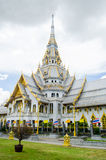 Wat sothorn wararam. Woraviharn in thailand Royalty Free Stock Photos