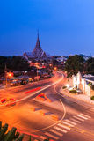 Wat Sothorn Wararam Woraviharn, Thailand Royalty Free Stock Photo