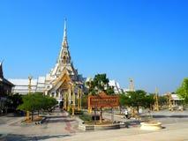 Wat Sothorn Wararam Worawihan, Chachoengsao Province, Thailand. Beautiful temple in Thailand stock image