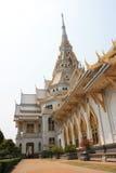 Wat Sothorn Wararam Worawihan, province de Chachoengsao, Thaïlande Images libres de droits