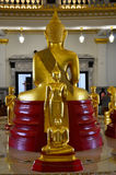 Wat Sothornwararam at Chachoengsao Thailand. Wat Sothorn marks a new beginning for us since it became the first temple we visited as a new team. Our friend after Stock Photography