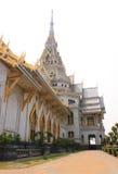 Wat Sothornwararamworaviharn, Chachoengsao Tailandia Fotografia Stock Libera da Diritti