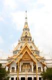 Wat Sothornwararamworaviharn, Chachoengsao Thaïlande Images libres de droits