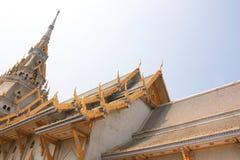 Wat Sothornwararamworaviharn, Chachoengsao Thaïlande Photographie stock libre de droits