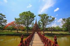 Wat Sra Sri in Sukhothai historical park Royalty Free Stock Photo