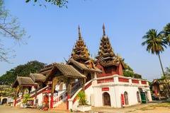 Wat Sri密友寺庙 库存图片