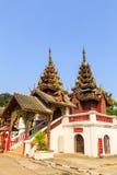 Wat Sri密友寺庙 库存照片