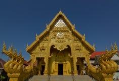 Wat Sri平底锅吨在楠府,泰国 免版税库存照片