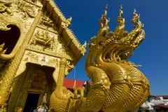 Wat Sri平底锅吨在楠府,泰国 库存图片