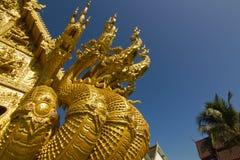 Wat Sri平底锅吨在楠府,泰国 免版税库存图片