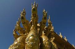 Wat Sri平底锅吨在楠府,泰国 图库摄影