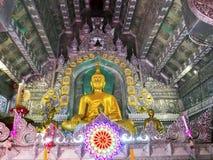 Wat Sri素攀武里, Chiangmai 免版税库存图片