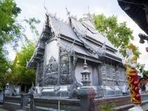 Wat Sri素攀武里, Chiangmai 库存照片