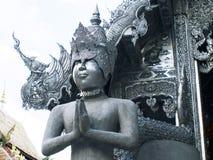 Wat Sri素攀武里, Chiangmai 库存图片