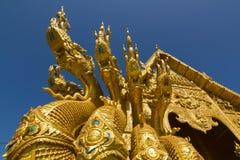 Wat Sri Pan Ton in Nan Province, Thailand Royalty-vrije Stock Foto