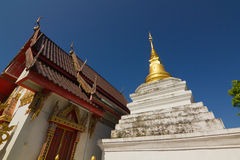 Wat Sri Pan Ton in Nan Province, Thailand Stock Photos